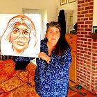 Annie Freud's Portrait by Rusty  Gladdish