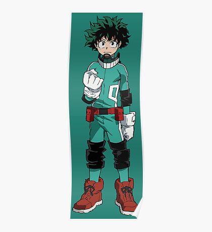 Mighty Midoriya Poster