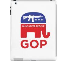 GOP - GUNS OVER PEOPLE iPad Case/Skin