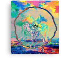 Glitch Horse II Canvas Print