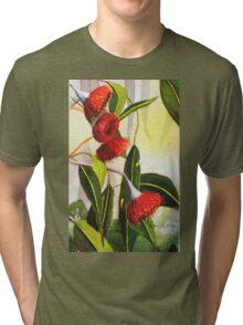 Gum Flowers Tri-blend T-Shirt