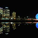 Reflections Of Melbourne by John  Kowalski