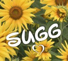 Sugg Sunflowers Sticker