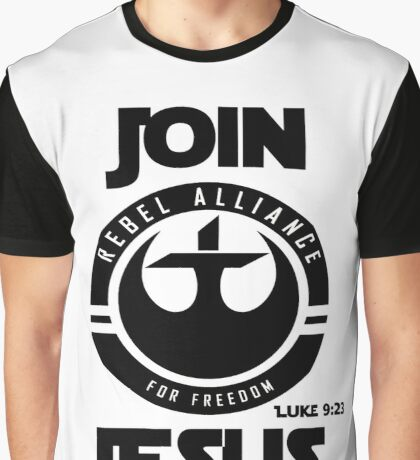 Join Jesus Graphic T-Shirt
