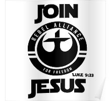 Join Jesus Poster