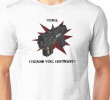 Lawgiver Hot Shot Unisex T-Shirt