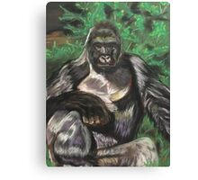 Harambe - Tribute Canvas Print