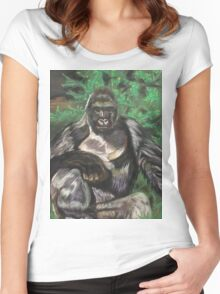 Harambe - Tribute Women's Fitted Scoop T-Shirt