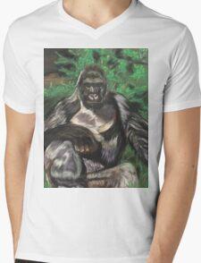 Harambe - Tribute Mens V-Neck T-Shirt