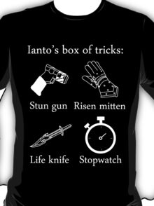 Ianto's box of tricks (white) T-Shirt