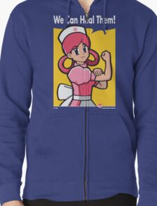 We Can Heal Them! Zipped Hoodie