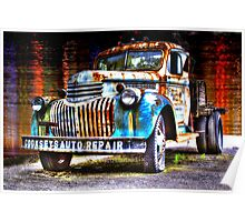 HDR Truck Poster