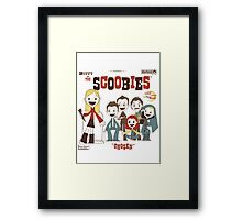 Buffy And The Scoobies Framed Print