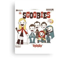 Buffy And The Scoobies Canvas Print