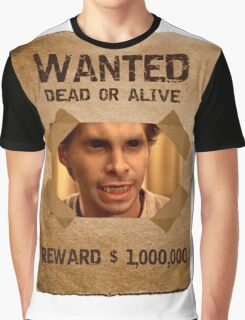 Buffy Oz Werewolf Wanted  Graphic T-Shirt