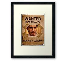 Buffy Oz Werewolf Wanted  Framed Print