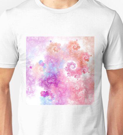 Cotton Candy - Abstract Fractal Artwork T-Shirt
