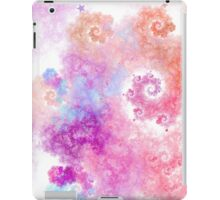 Cotton Candy - Abstract Fractal Artwork iPad Case/Skin