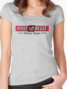 Daily Bugle News Team  Women's Fitted Scoop T-Shirt
