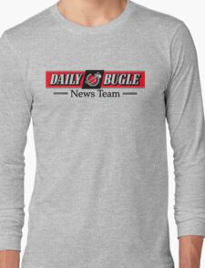 Daily Bugle News Team  Long Sleeve T-Shirt