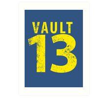 Vault 13 Art Print