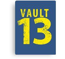 Vault 13 Canvas Print
