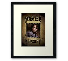 Buffy Ted Wanted Framed Print