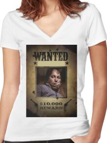 Buffy Ted Wanted Women's Fitted V-Neck T-Shirt