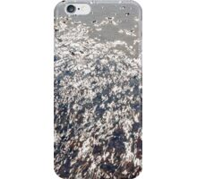 Water letter iPhone Case/Skin