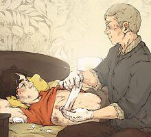 BBC Sherlock: Dr Watson by sweetlitlekitty