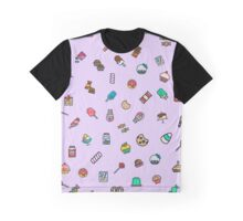 candy pattern Graphic T-Shirt