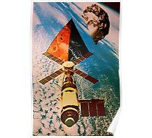 Late satellite  Poster