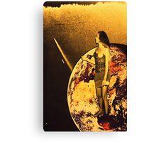 earth queen  Canvas Print