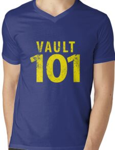 Vault 101 Mens V-Neck T-Shirt