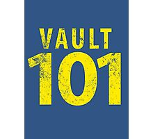 Vault 101 Photographic Print