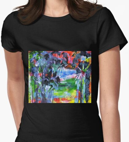 Waterhole Womens Fitted T-Shirt