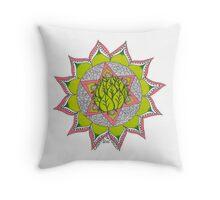 Heart Chakra Symbol Throw Pillow
