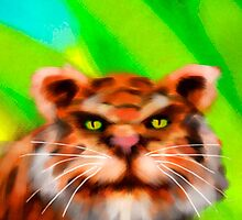 Tiger by Smallbrainfield