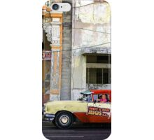 Rent a car in La Habana. Humourous iPhone Case/Skin