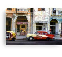 Rent a car in La Habana. Humourous Canvas Print