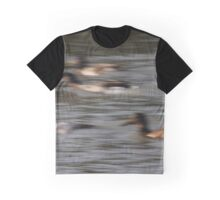Ducks in motion Graphic T-Shirt
