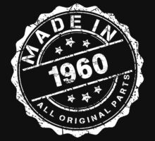 MADE IN 1960 ALL ORIGINAL PARTS by smrdesign