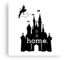 Disney Is My Home Canvas Print