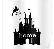 Disney Is My Home Poster
