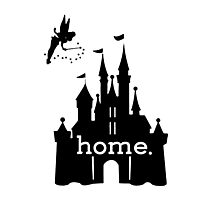 Disney Is My Home Photographic Print