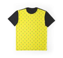 Pineapple Pattern Graphic T-Shirt