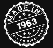 MADE IN 1963 ALL ORIGINAL PARTS by smrdesign