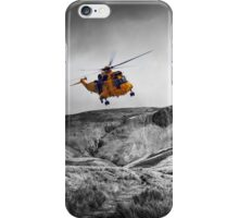 Sea King Glen Rescue iPhone Case/Skin