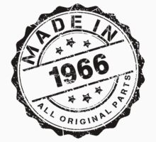 MADE IN 1966 ALL ORIGINAL PARTS by smrdesign