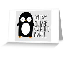 World Domination Greeting Card